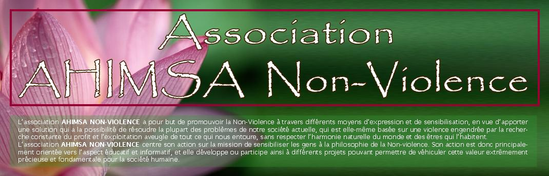 Association AHIMSA Non-Violence