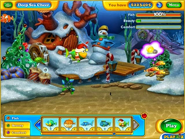 Fishdom Frostly Splash Online Free Online