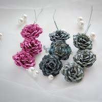 http://www.craftbar.com.pl/457,Roze-z-kolekcji-Rozowo-Szare-----9-szt-