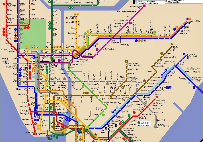 Jfk Subway Map