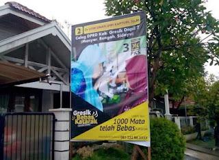 Banner Caleg PKS