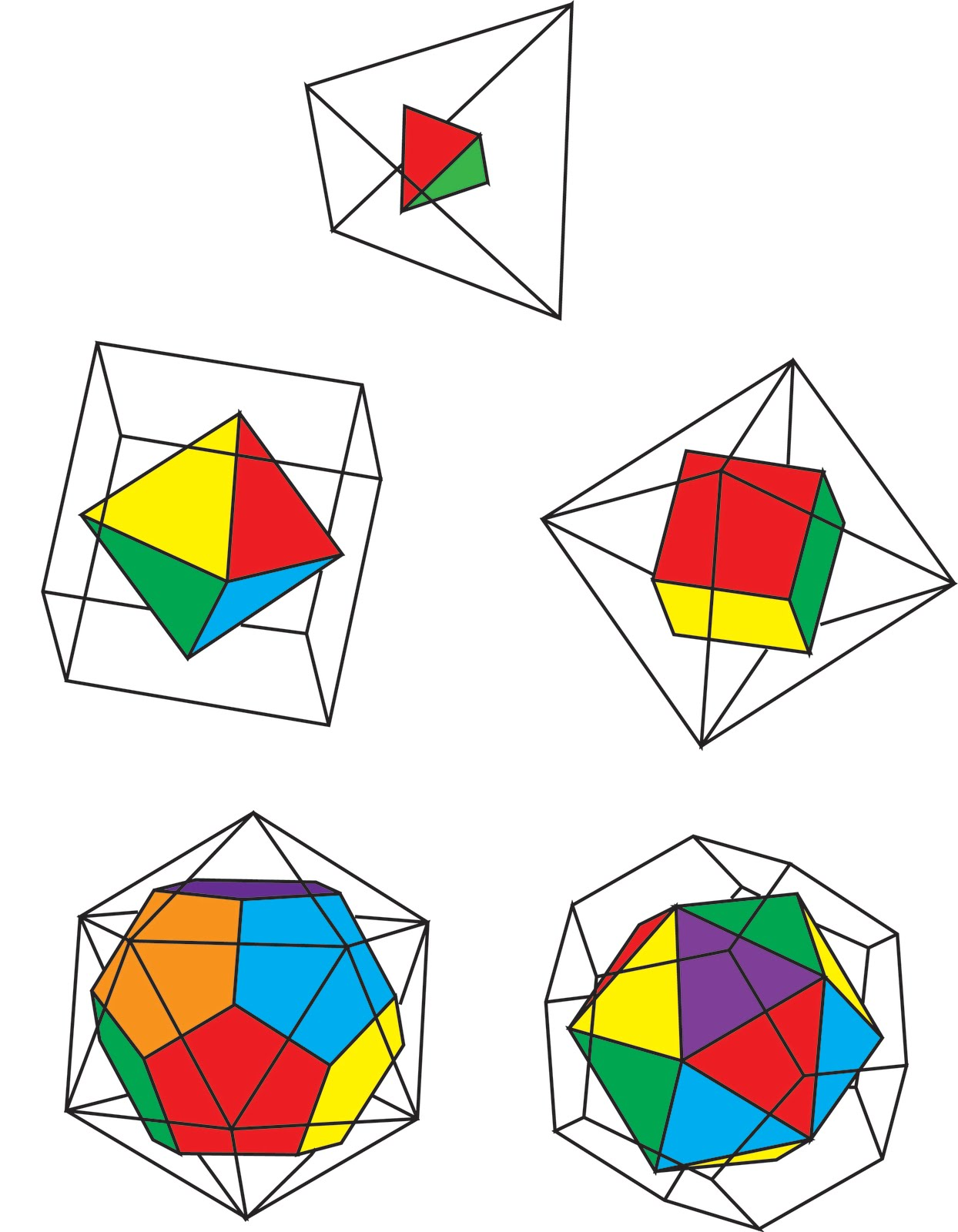 Fun with Mathematics  The art and science of Platonic solidsPlatonic Solids Art