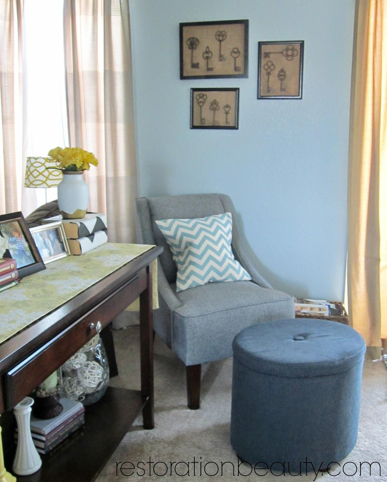 restoration beauty living room spring summer updates home tour
