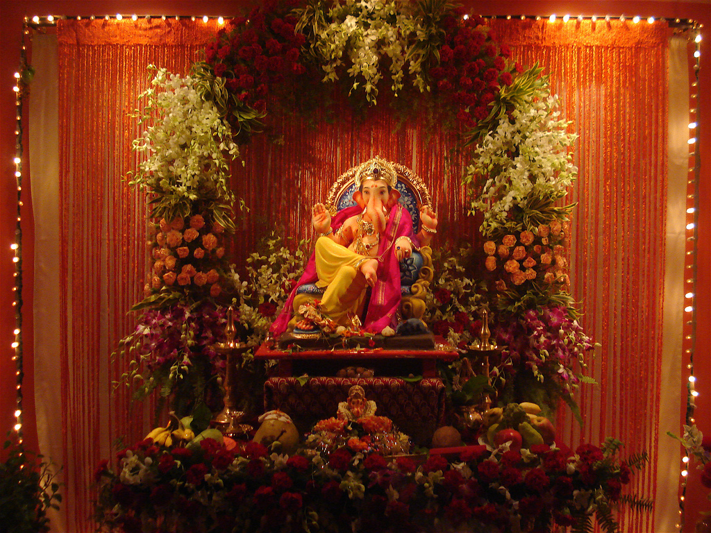 Ganesh mahostav shree ganesh for Decoration ganpati
