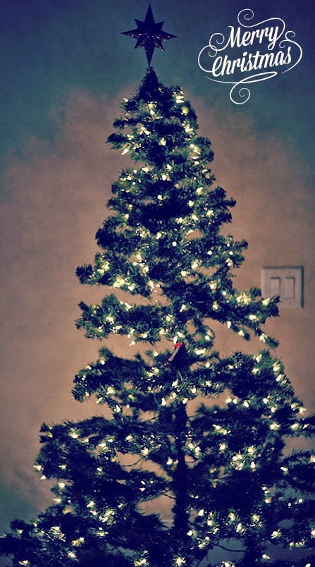 simple holiday tree