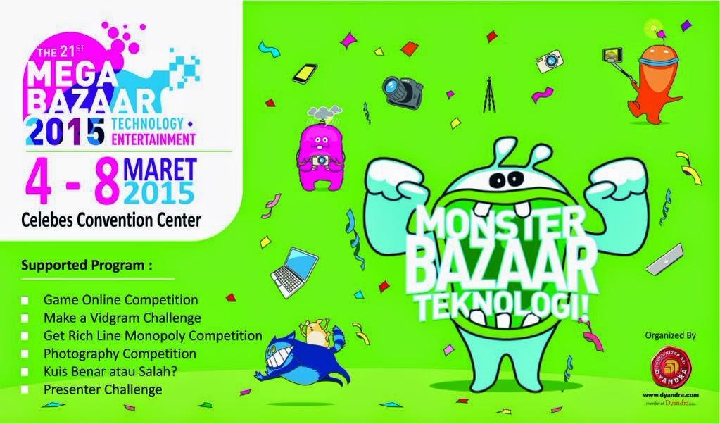 Mega Bazaar 2015 Makassar