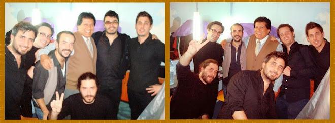 En el Lanzamiento del Ultimo CD del Grupo MARCAPIEL