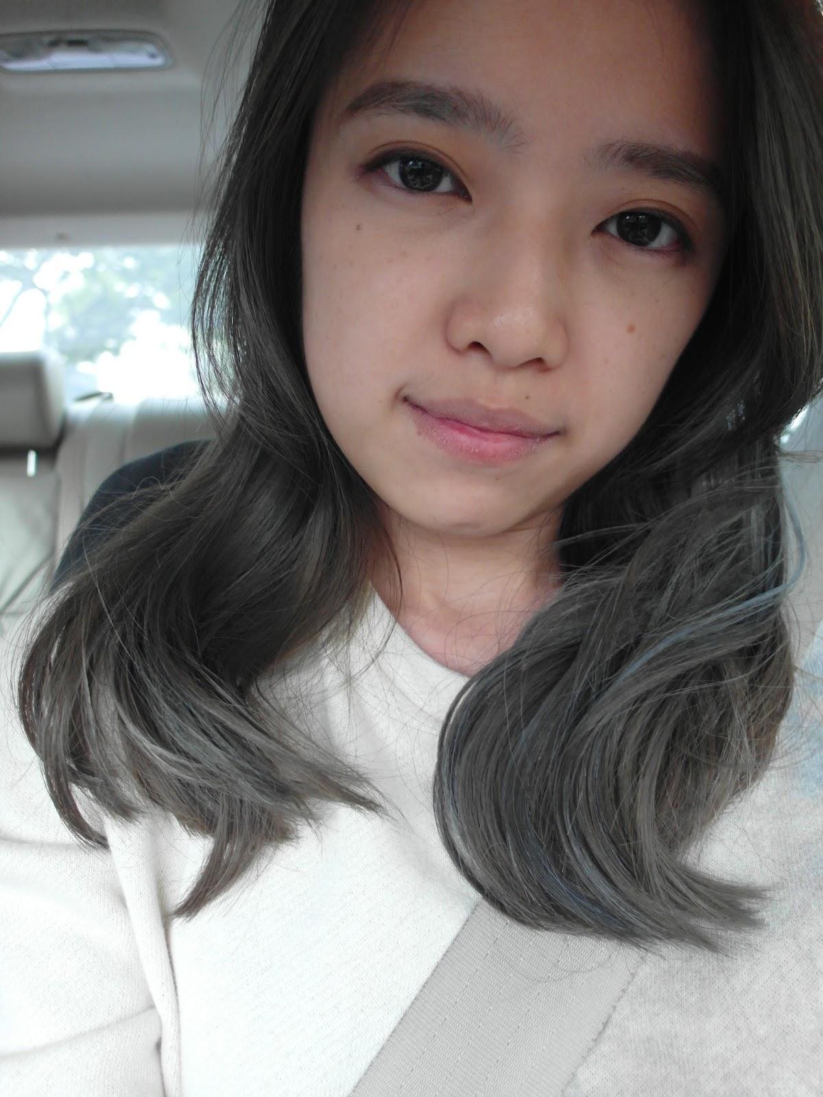 How To Dye Hair A Dark Almost Black Grey  FancyFollicles