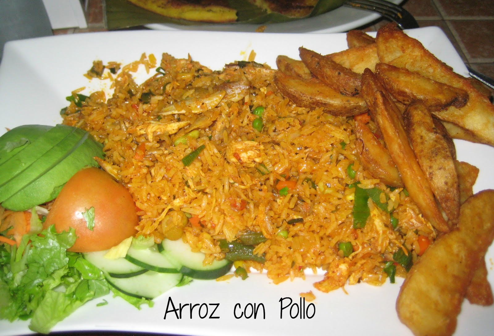 It is more like Nicaraguan arroz con pollo.
