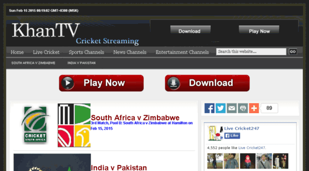 cricket 365 live streaming free