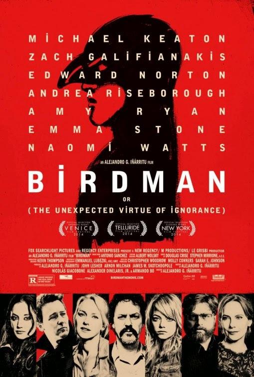 Birdman (2014) Poster
