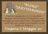 """Skryt til bloggen"" hilsen fra Ingrid."