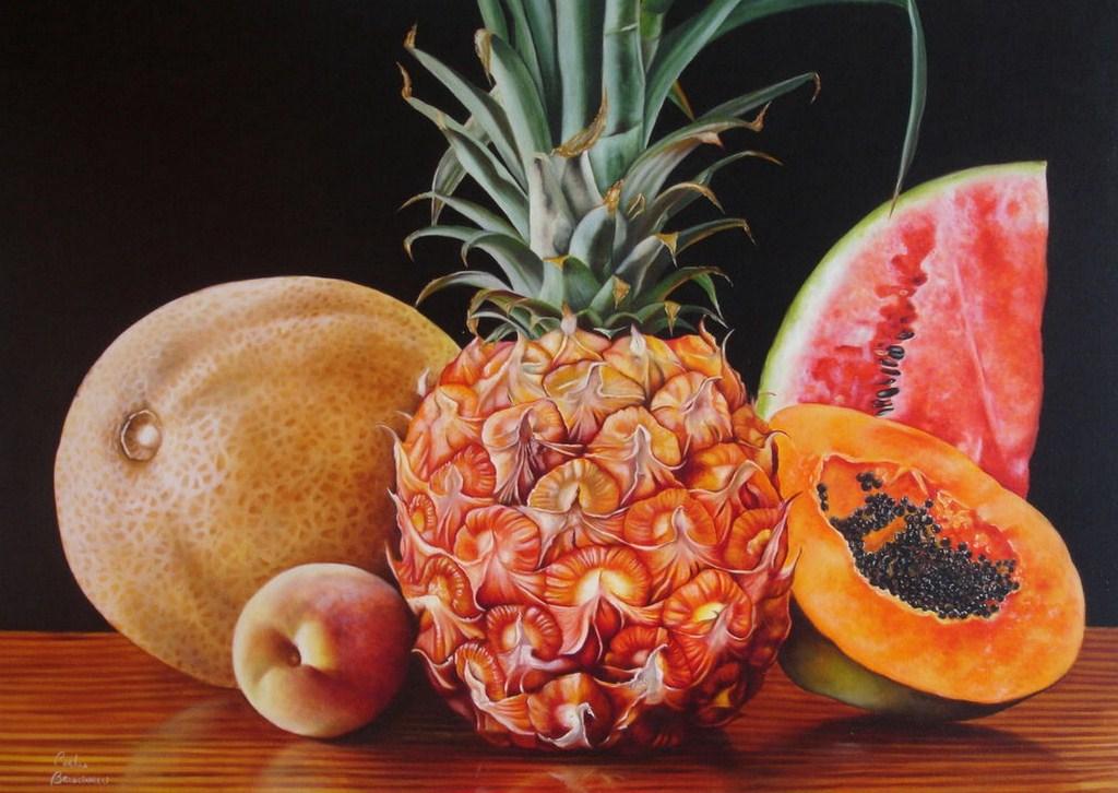Im genes arte pinturas bodeg n - Fotos de bodegones de frutas ...