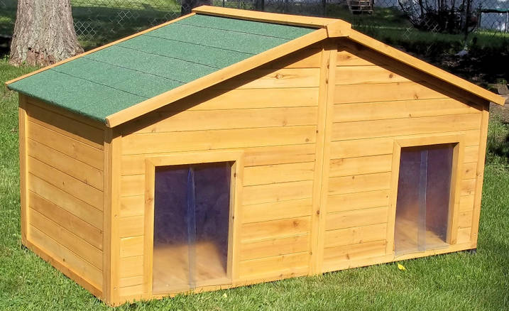 Giant dog houses for sale home improvement for 2 large dog house