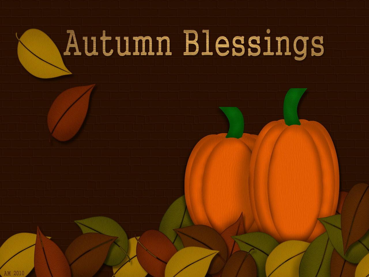Autumn Light... Autumn Harvest Background
