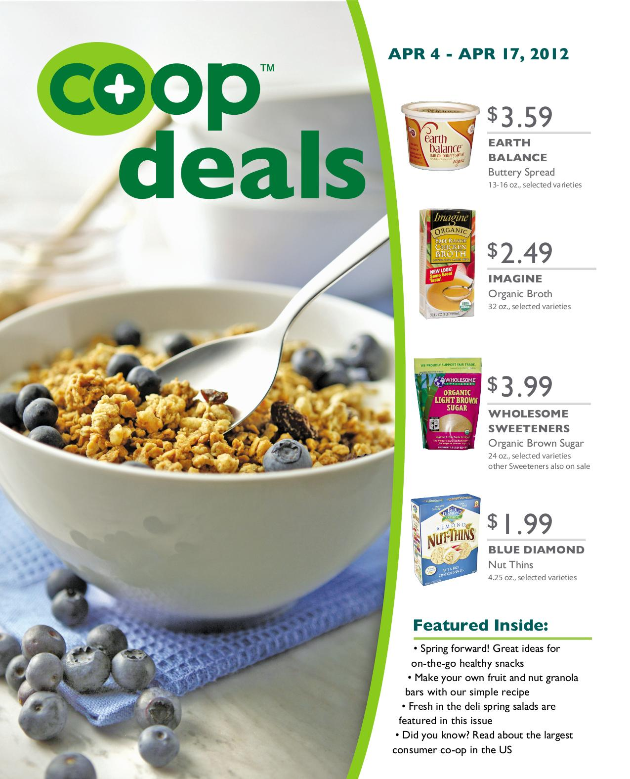 Co+op Deals Flyer