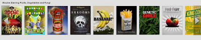 Movies Starring Fruits, Vegetables and Fungi