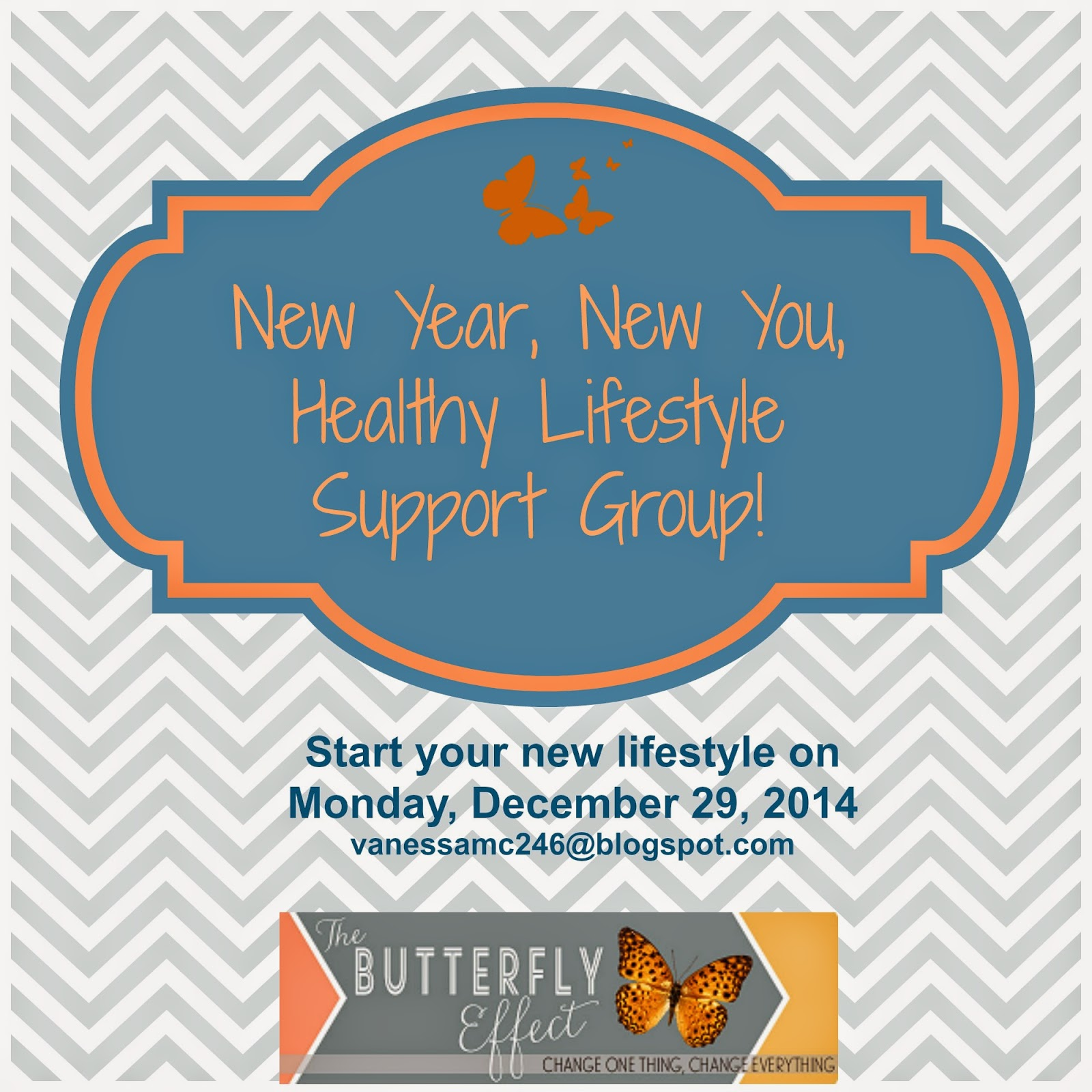 accountablitlity group, challenge group, clean eating, Vanessa McLaughlin, The Butterfly Effect