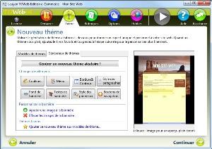 برنامج تصميم المواقع TOWeb