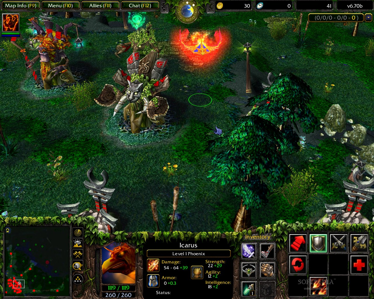 Free Download Game Warcraft III DotA Allstars Map 672f