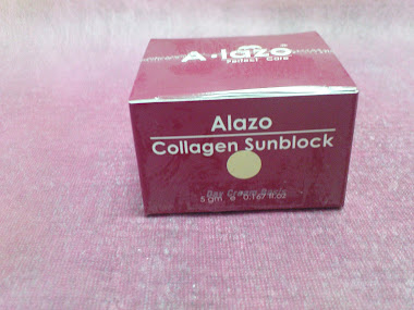 A-lazo Collagen Sunblock Day Cream Basis