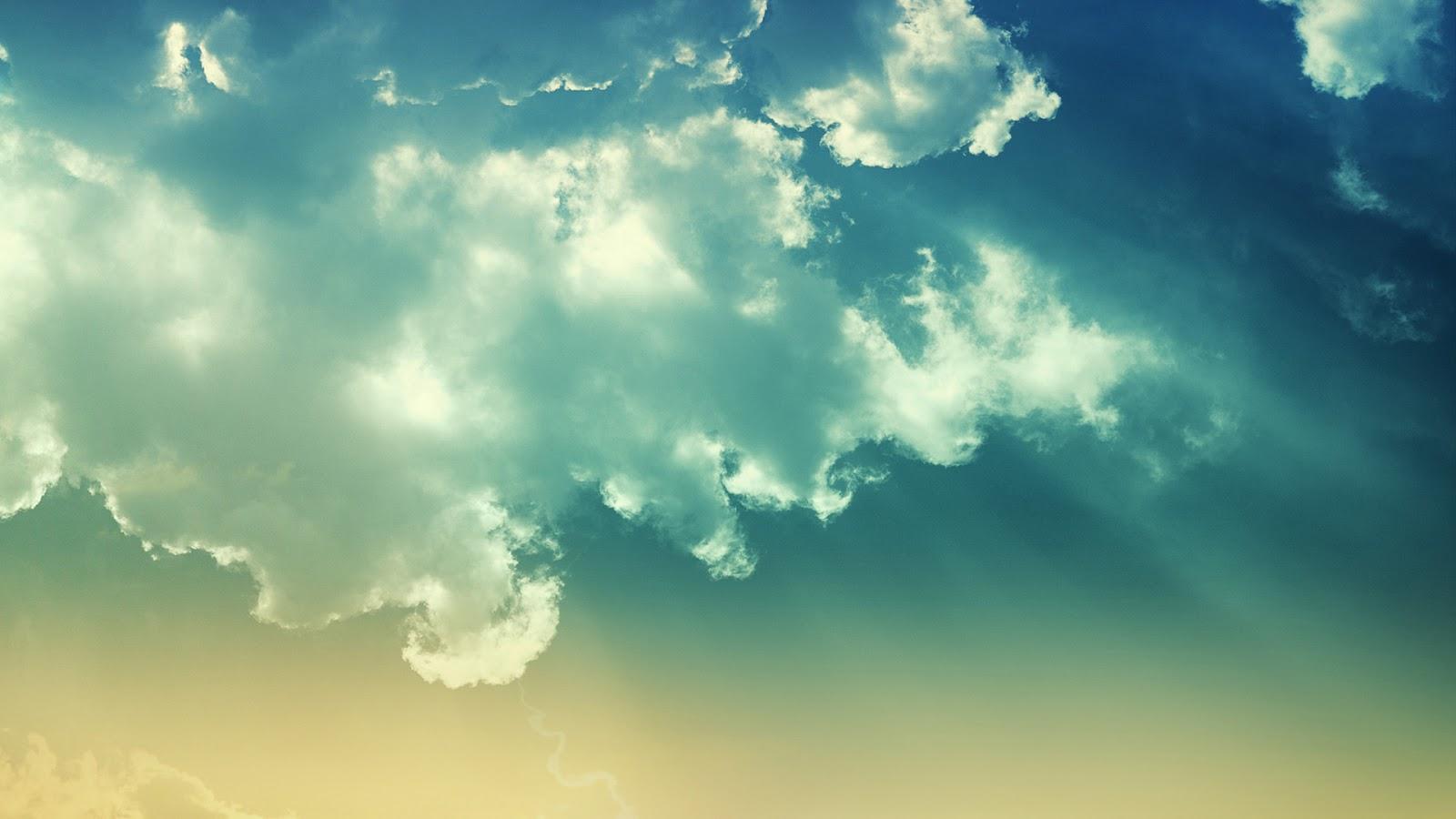 Blue White Clouds