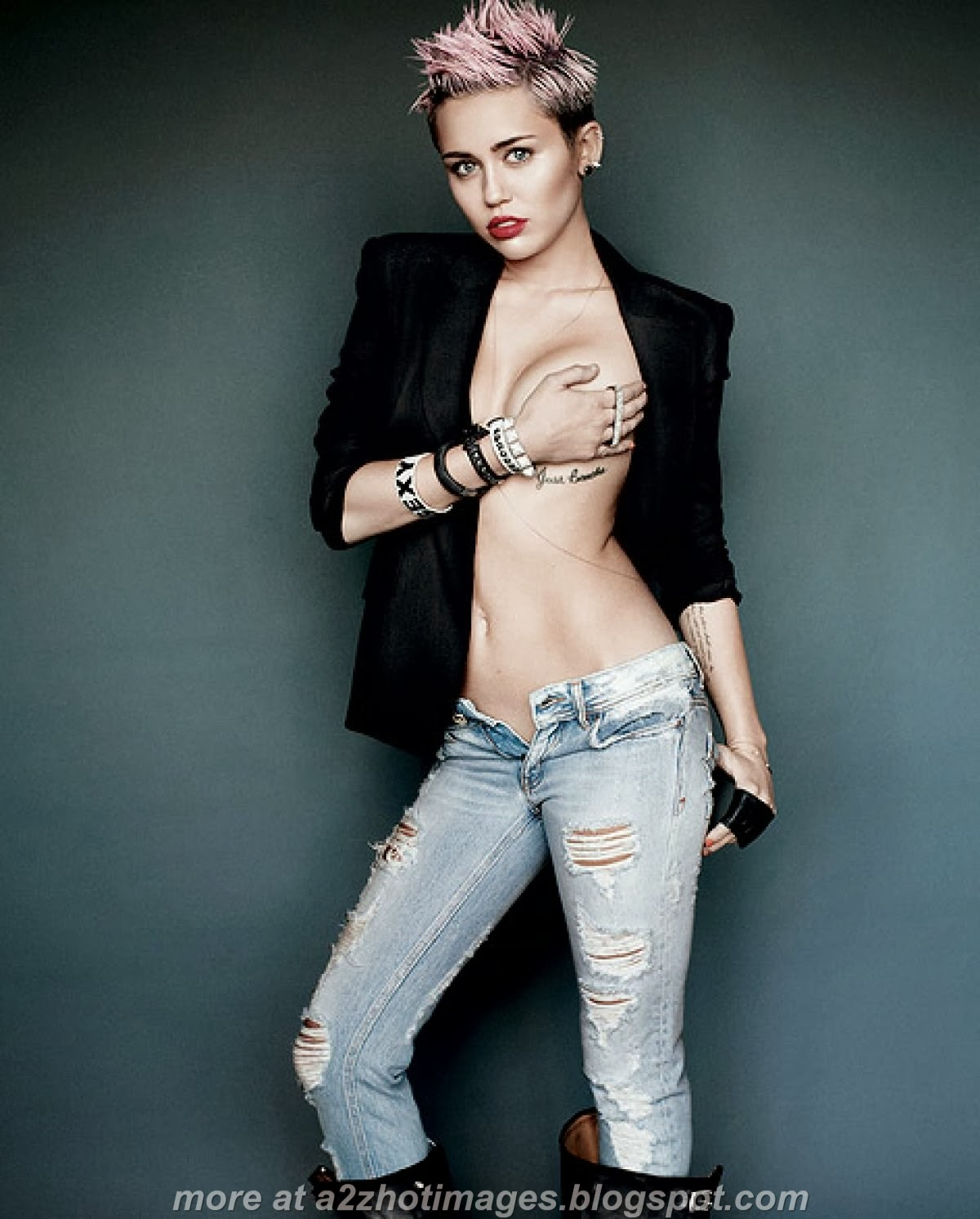 Miley Cyrus: 10 Skin-Baring Shots! Access Online