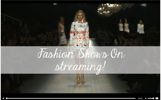 Fashion Show Live Streaming