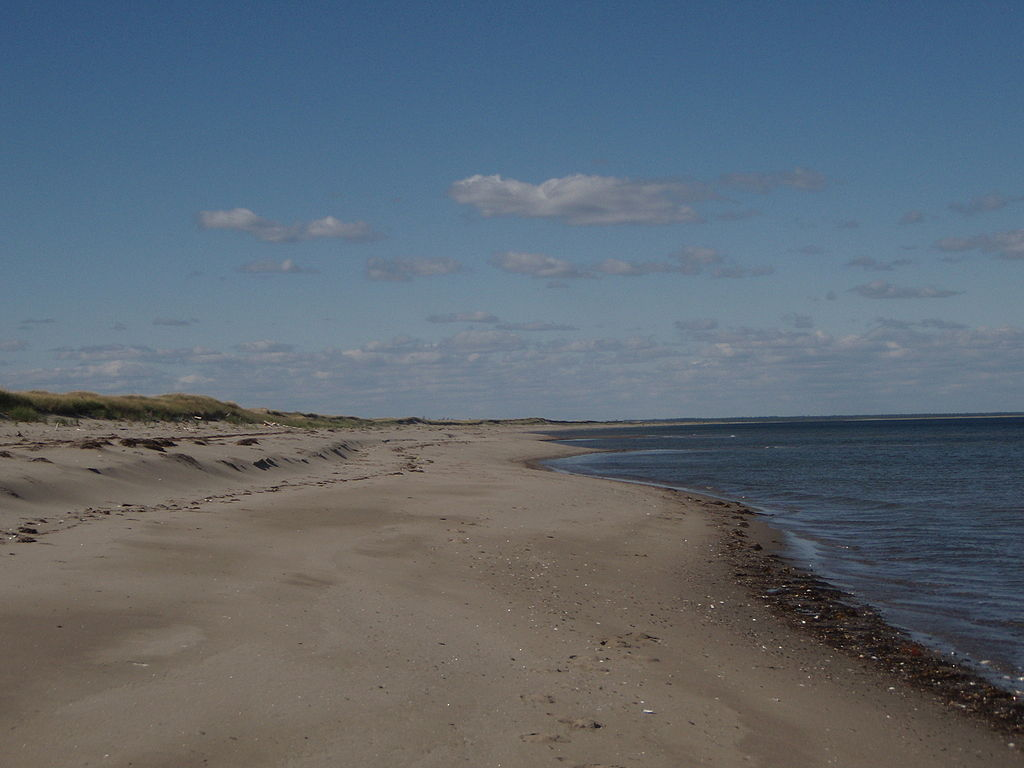 Kellys beach, playa nudista (New Brunswick, Canadá)