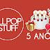 """5 Anos de All POP Stuff e a dificuldade de dizer """"site"""" no lugar de """"blog"""""""