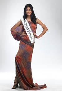MISS INDONESIA 2011 CONTESTANT - Astari Aslam