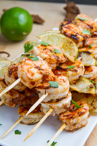 Chipotle Lime Grilled Shrimp on Closet Cooking
