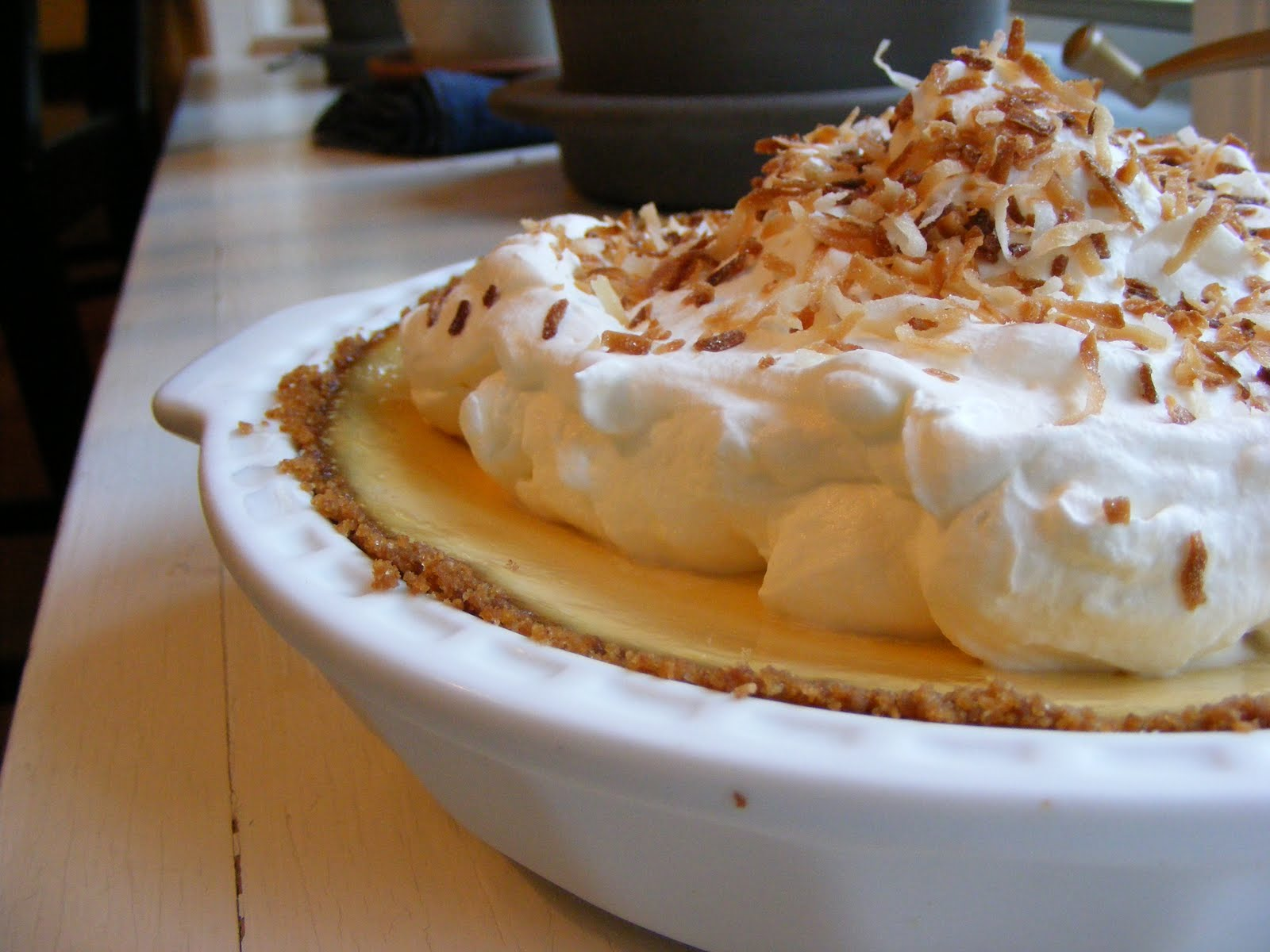 The Virtual Goody Plate: Coconut Key Lime Pie