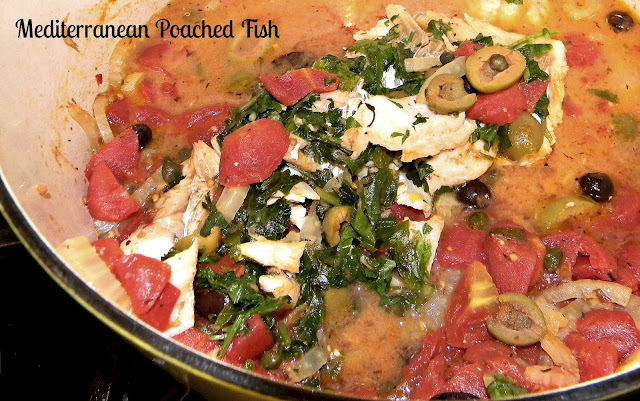 Paleo mediterranean baked fish cook and post for Mediterranean fish recipes