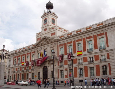 Old Post Office Puerta del Sol Madrid Square
