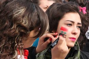 Pro-Assad Female