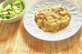 Pilaf de orez cu pui