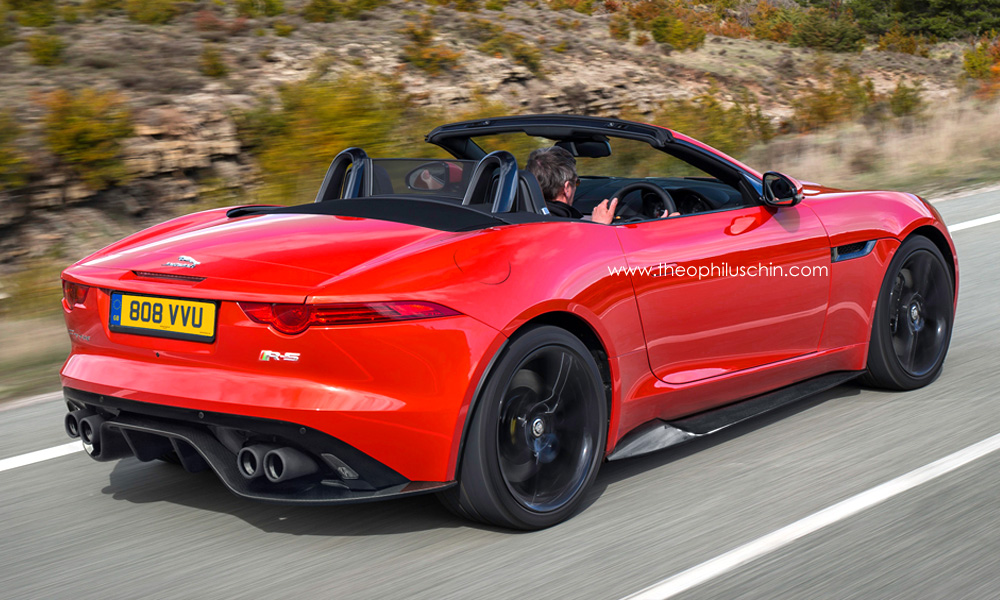 Jaguar Rs : rendering jaguar f type rs ~ Gottalentnigeria.com Avis de Voitures