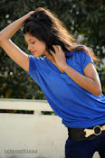 Sneha Tagore Photo shoot in Blue-thumbnail-9