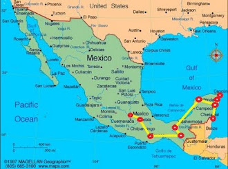 Mexico Route Map