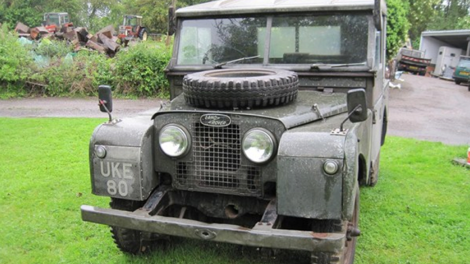 A Land Rover built for former British Prime Minister Winston Churchill on his 80th birthday has sold for a whopping &#163;129,000 at an auction in UK.The vehicle, which had been modified to enable him to be chauffeur-driven around his Chartwell estate in Kent, was expected to fetch up to &#163;60,000 at an auction in Cambridgeshire, the BBC News reported.The Land Rover sold for &#163;129,000&#8212; more than twice its estimate.It was sold with the original logbook registering it to Churchill to a bidder who wished to remain anonymous.The previous owner had kept it in a shed in Kent since 1977.