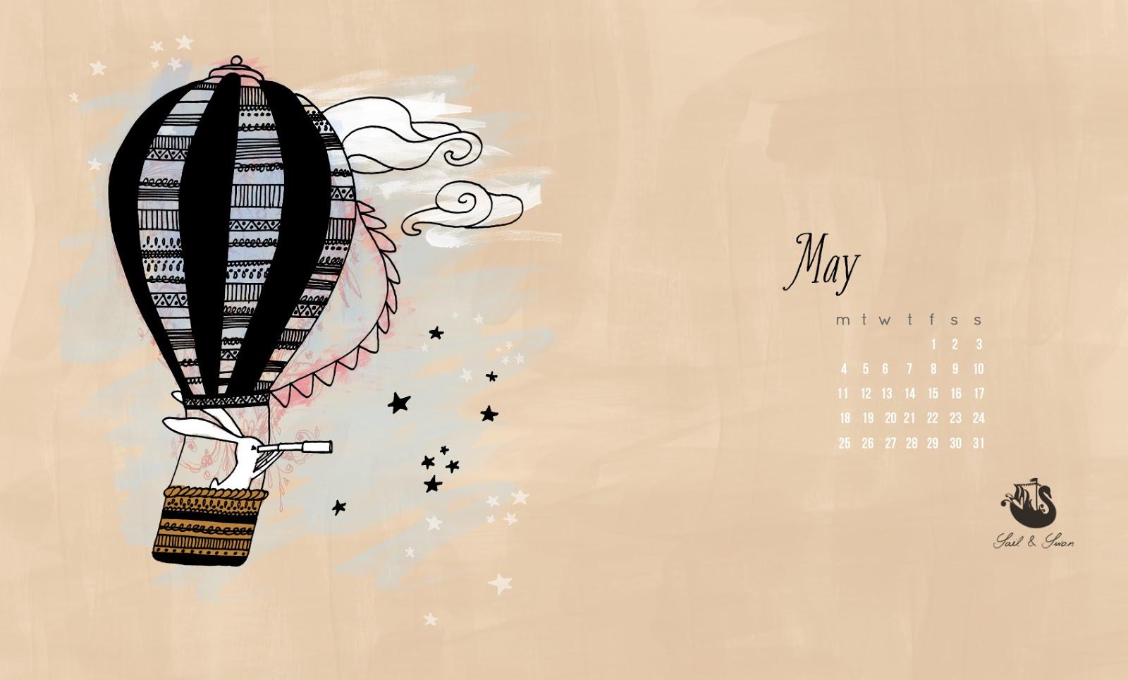 sail and swan rabbit wallpaper desktop background childrens illustration