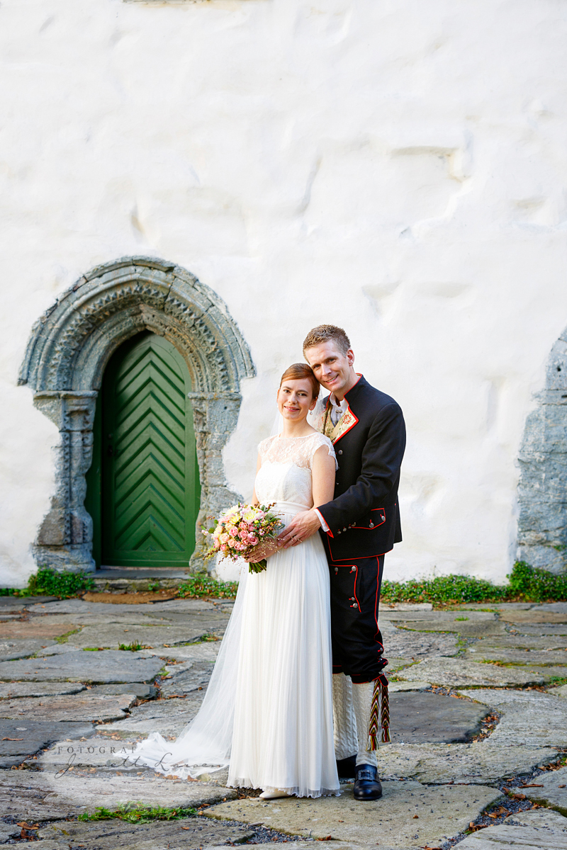 Utstein Kloster, bryllup
