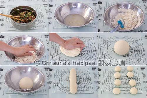 Pan Fried Bun Procedures