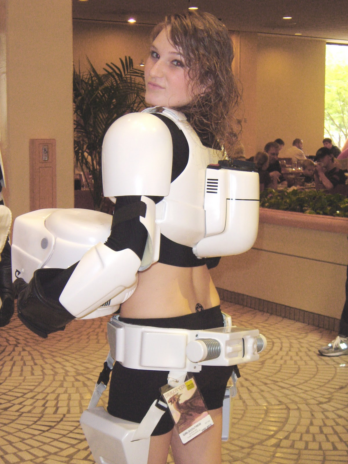 Stormtrooper helmet nude anime videos