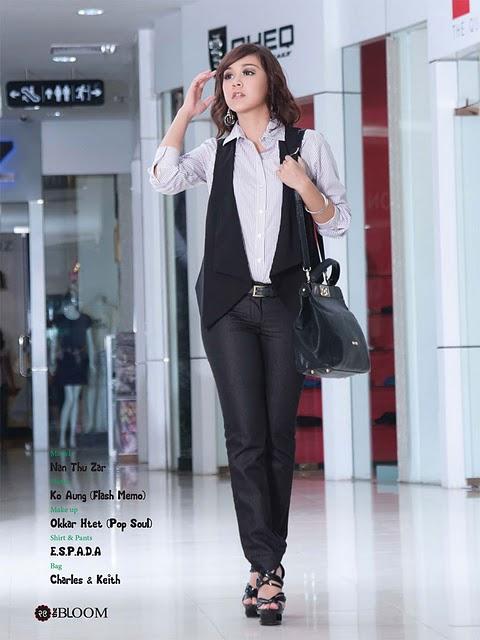Model Nan Thu Zar