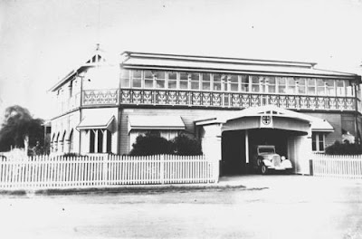 Mackay Ambulance Station 1940s