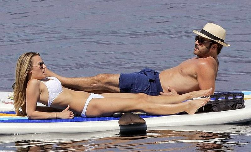 The 48-year-old was seen enjoying the sunshine with new mystery girl in Cannes, France on Sunday, May 25, 2014.