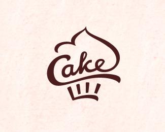 Let s Share the World of Fantasy: 20 Cake Logo Inspirations