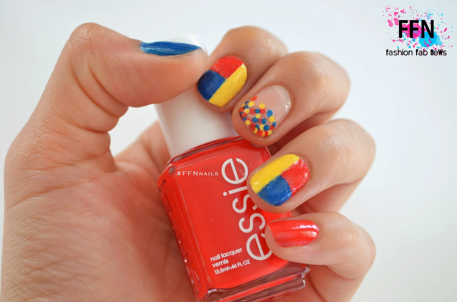 Colombia Independence S Day Nail Art Fashion Fab News Beauty Celebrities Designers